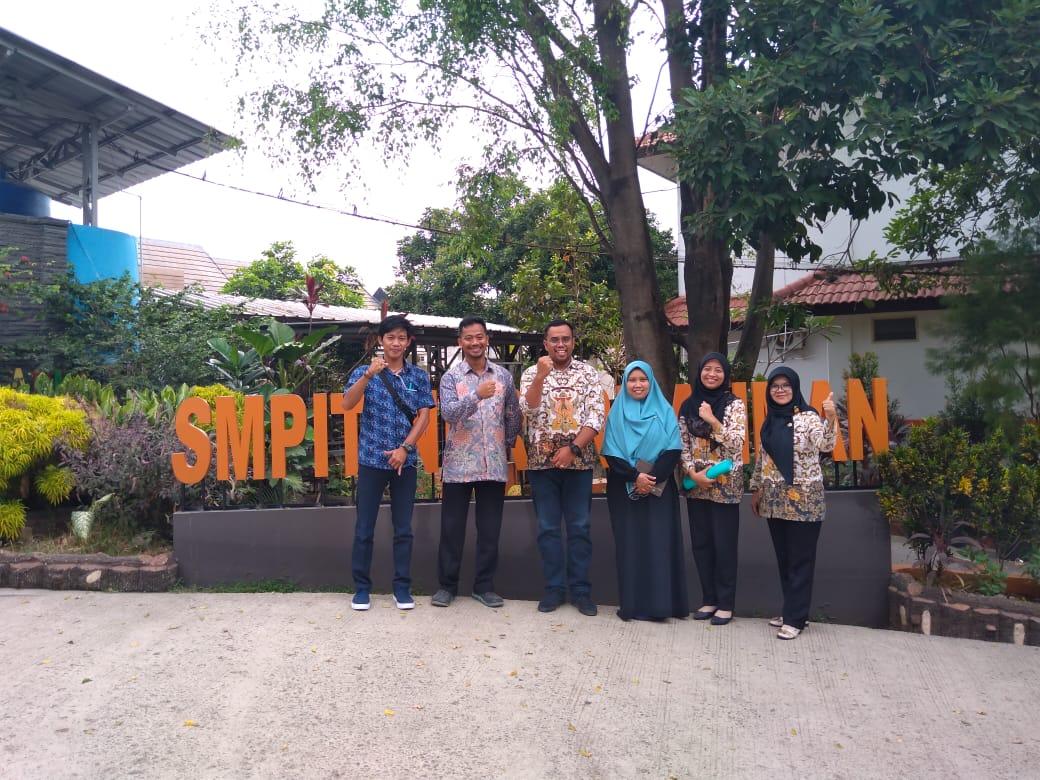 Verifikasi Sekolah Adiwiyata di SMPIT Nururrahman