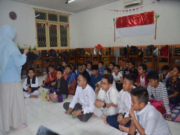 Kegiatan Mabit Persiapan UTS Ganjil TP. 2018-2019