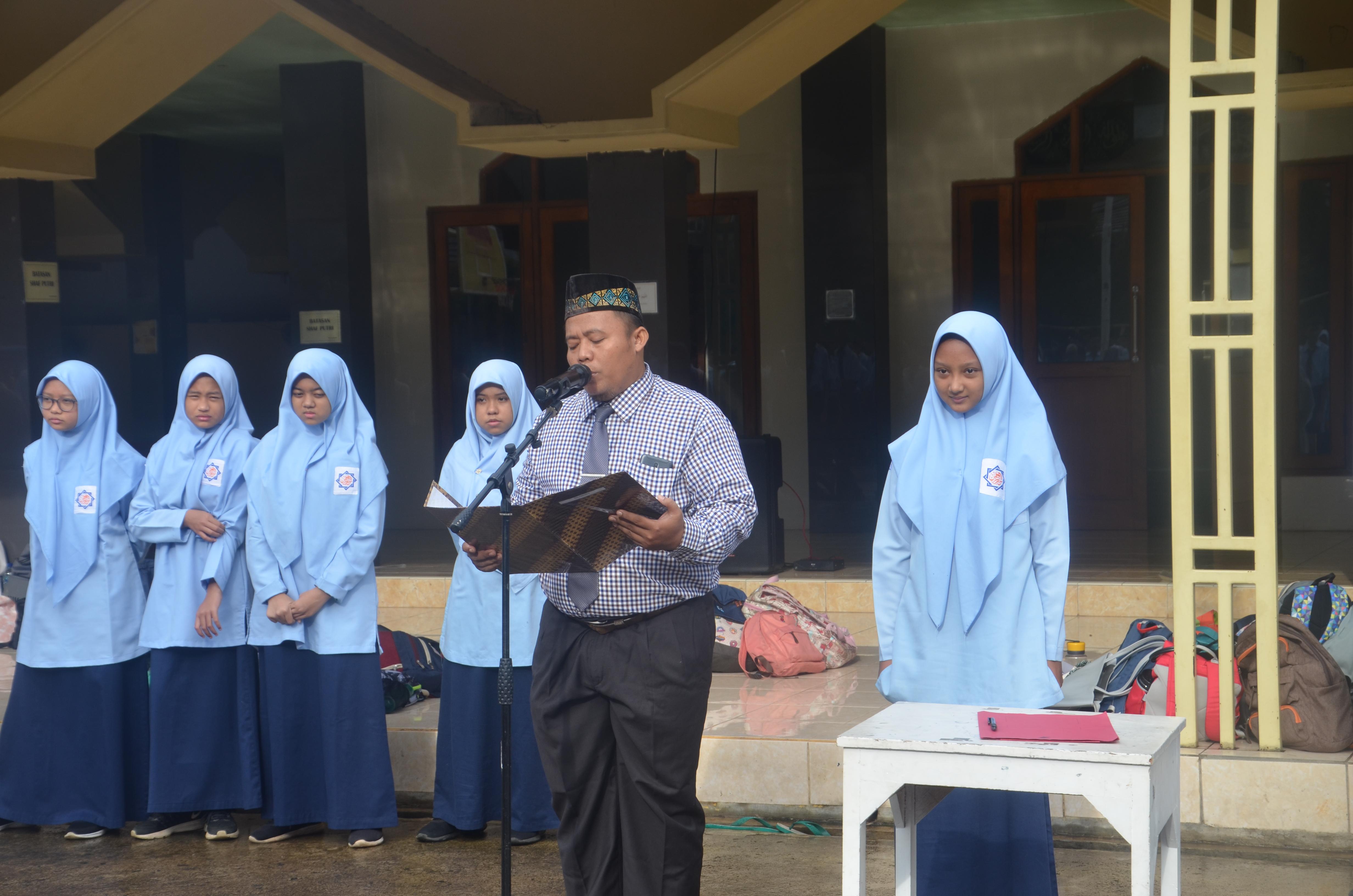 Pelantikan Pengurus OSIS SMPIT Nururrahman Periode 2020-2021