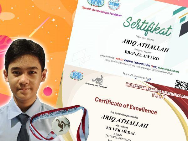 Siswa SMPIT Nururrahman Torehkan Prestasi dalam Read1 Online Science Competition (ROSC)